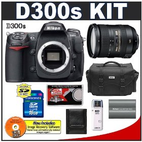 Nikon D300s Digital SLR Camera + 18-200mm VR [Vibration Reduction] II DX Lens + 16GB Card + EN-EL3e Battery + Case + Cameta Bonus Accessory Kit