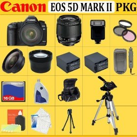 Canon EOS 5D Mark II 21.1 Megapixel Full-Frame Sensor Digital Camera