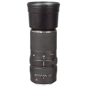Tamron AF 200-500mm f/5.0-6.3 Di LD SP FEC (IF) Lens for Canon Digital SLR Cameras