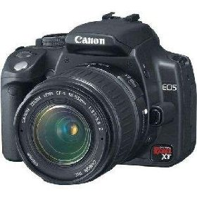 Canon Digital Rebel XT 8MP Digital SLR Camera (Body Only)