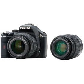 Pentax K2000 10.2MP Digital SLR Camera with 18-55mm f/3.5-5.6 DA L and 50-200mm f/4-5.6 ED Lenses