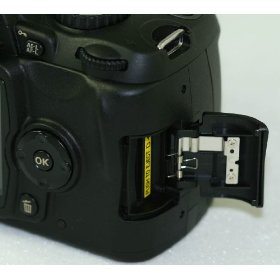 Nikon Genuine SD Memory Card Door Cover For D80 Digital Camera