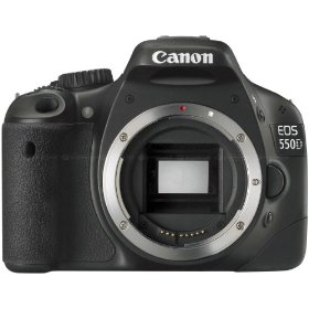Canon EOS 550D (European EOS Rebel T2i) 18 MP CMOS APS-C Digital SLR Camera, Made in Japan (Body)