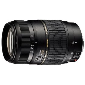 Tamron AF70-300mm F/4-5.6 Di LD Macro Lens with hood for Nikon-D DSLR Cameras