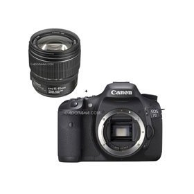 Canon EOS-7D Digital SLR Camera with EF-S 15-85mm f/3.5-5.6 IS USM