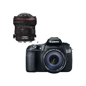 Canon EOS 60D Digital SLR Camera / Lens Kit, With EF 18-135mm f/3.5-5.6 IS USM Lens & TS-E 17mm f/4L Tilt-Shift Manual Focusing Lens