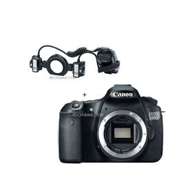 Canon EOS 60D Digital SLR Camera Body, with MT-24EX, Macro Twin Lite Flash Unit