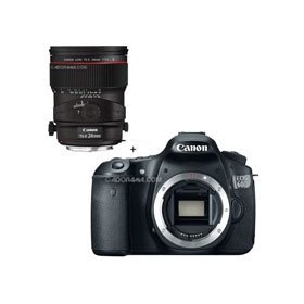 Canon EOS 60D Digital SLR Camera Body, with TS-E 24mm f/3.5L II Tilt-Shift Lens