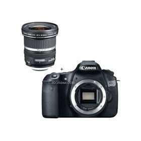 Canon EOS 60D Digital SLR Camera Body, with EF-S 10mm - 22mm f/3.5-4.5 USM Autofocus Zoom Lens