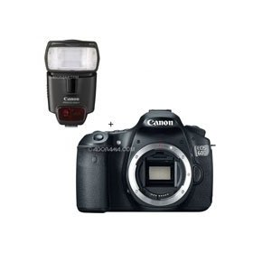 Canon EOS 60D Digital SLR Camera Body, WITH Speedlite 430EX II Flash