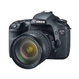 Canon EOS 7D 18 MP CMOS Digital SLR Camera with 3-inch LCD and 28-135mm f/3.5-5.6 IS USM Standard Zoom Lens