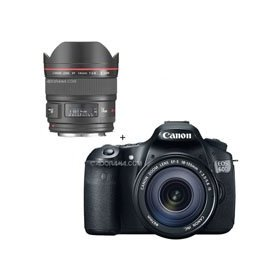Canon EOS 60D Digital SLR Camera / Lens Kit,With EF 18-135mm f/3.5-5.6 IS USM Lens & EF 14mm f/2.8L II USM Wide Angle Lens