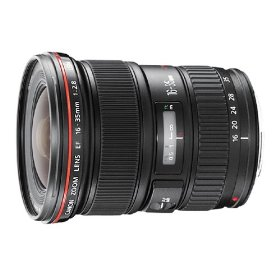 Canon EF 16-35mm f/2.8L USM Ultra Wide Angle Zoom Lens for Canon SLR Cameras