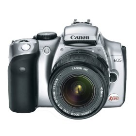 Canon EOS 6.3MP Digital Rebel Camera (Body Only)