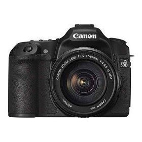 Canon EOS 50D 15.1MP Digital SLR Camera With EF-S 17-85mm f/4-5.6 IS USM Lens