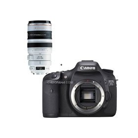 Canon EOS-7D Digital SLR Camera with EF 100-400mm f/4.5-5.6L IS USM