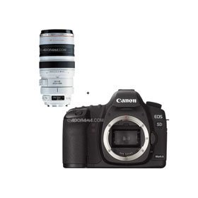 Canon EOS-5D Mark II Digital SLR Camera Body with EF 100-400mm f/4.5-5.6L IS USM
