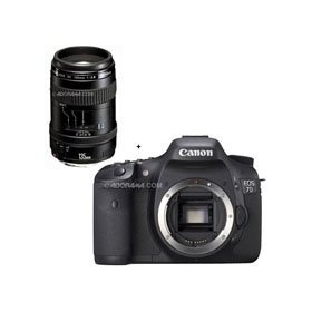 Canon EOS-7D Digital SLR Camera with EF 135mm f/2.8 Softfocus