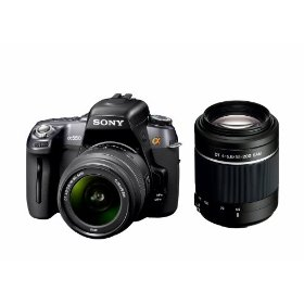 Sony DSLR Alpha DSLR-A550 14.2 MP Digital SLR Camera Body + Accessory Kit