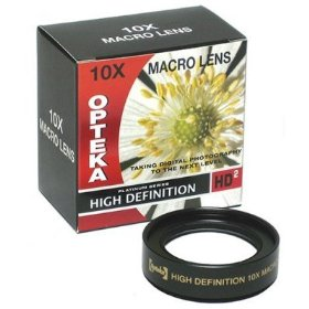 Opteka 10x HD� Professional Macro Lens for Kodak EasyShare Z650, Z740, Z710 Digital Camera