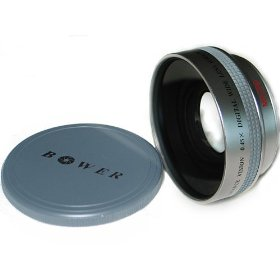 Bower 52mm 0.45X Pro Deluxe Super Wide Angle Lens with Macro - VLB4552