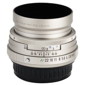 Pentax SMCP-FA 43mm f/1.9 Limited Lens with Case and Hood