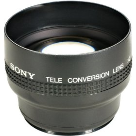 Sony VCLR2052 Telephoto Conversion Lens for CCDTR3300, DCRTRV900, DCRVX1000, DCRVX700, DSCF505 & DSCF505