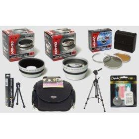 Opteka HD² Professional Digital Accessory Kit for Panasonic Lumix DMC-LX3 Digital Camera