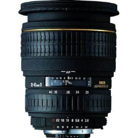 Sigma 20-40mm f/2.8 EX DG Aspherical Wide Angle Zoom Lens for Nikon SLR Cameras