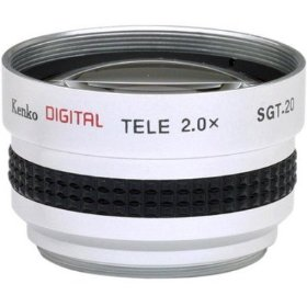 2x Telephoto Conversion Lens for Canon ZR90 ZR85 ZR80 Optura 500