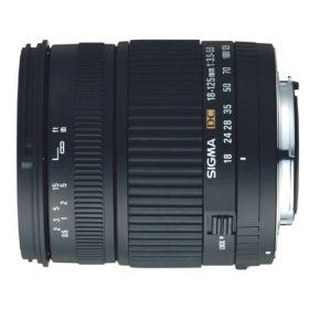 Sigma 18-125mm f/3.5-5.6 DC IF Aspherical Zoom Lens for Pentax and Samsung Digital SLR Cameras