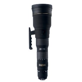 Sigma 300-800mm f/5.6 EX DG HSM APO IF Ultra Telephoto Zoom Lens for Canon SLR Cameras
