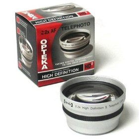Opteka 2x HD� Telephoto Lens for Kodak EasyShare Z730